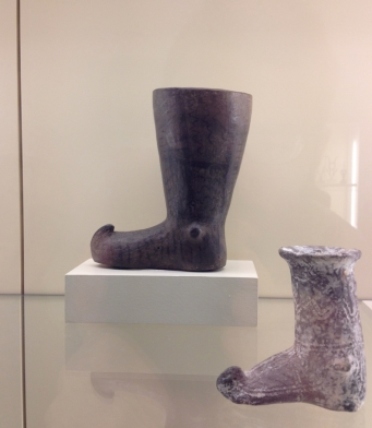 "Ancient Persian ""Boot Mug,"" (ca. 1800-2000 BCE), Pergamon Museum, Berlin."