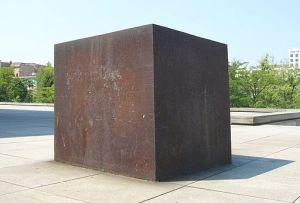 Richard Serra Berlin Block (for Charlie Chaplin) 1978