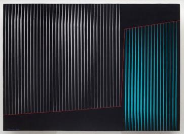 Lothar Charoux — Composição, 1964 Gouache on paper 50 x 70 cm / 19 5/8 x 27 1/2 in