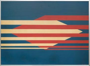 Lothar Charoux — Horizontais, 1960 Oil on wood 52 x 71 cm / 20 1/2 x 28 in