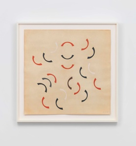 João José Costa — Untitled, 1954 Gouache on paper 70 x 70 cm / 27 1/2 x 27 1/2 in 80.6 x 81.6 x 4.8 cm / 31 3/4 x 32 1/8 x 1 7/8 in (framed)