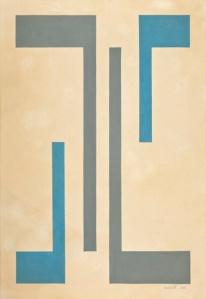 Rubem Ludolf — Untitled, 1960 Gouache on paper 48 x 33 cm / 18 7/8 x 13 in