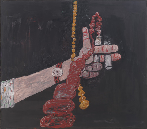 Philip Guston, Talking, 1979, oil on canvas, MoMA